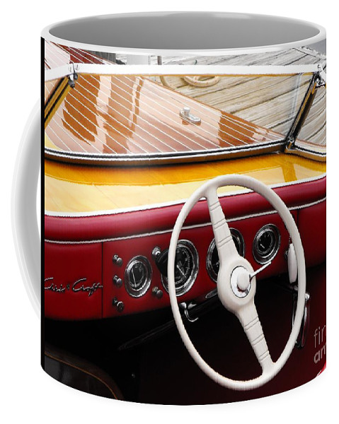 Chris Craft Coffee Mug featuring the photograph Chris Craft Custom by Neil Zimmerman