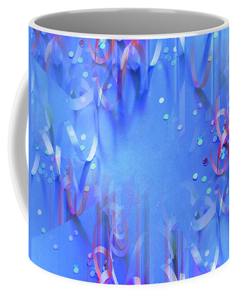 Celebrate Coffee Mug featuring the photograph Celebrate by Tim Allen