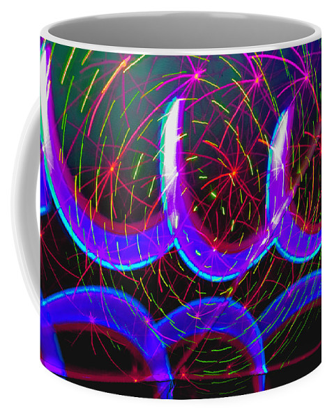 Abstract Coffee Mug featuring the photograph Celebration 17 by Michael Devereux