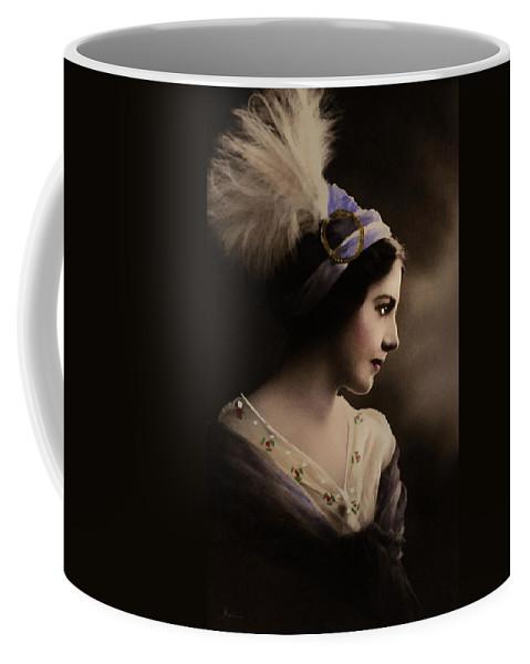 Realism Coffee Mug featuring the digital art Celeste Aida by Georgiana Romanovna