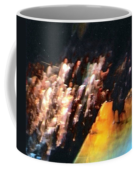 Surreal Coffee Mug featuring the photograph Celestial Applause by Pharris Art