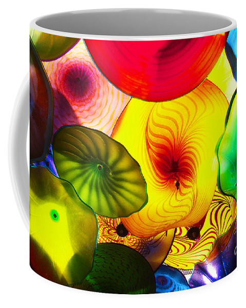 Glass Coffee Mug featuring the photograph Celestial Glass 2 by Xueling Zou