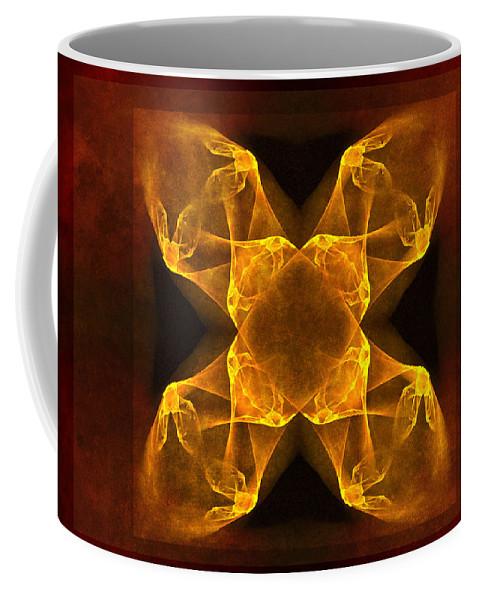 Gothic Coffee Mug featuring the digital art Celtic Gothica by Georgiana Romanovna