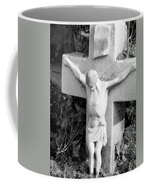 Cemetery Coffee Mug featuring the photograph Cemetery 2 by Anita Burgermeister