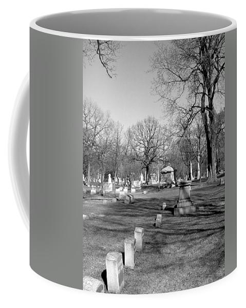 Cemetery Coffee Mug featuring the photograph Cemetery 7 by Anita Burgermeister