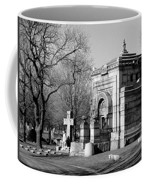Cemetery Coffee Mug featuring the photograph Cemetery 8 by Anita Burgermeister