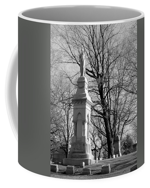 Cemetery Coffee Mug featuring the photograph Cemetery 9 by Anita Burgermeister