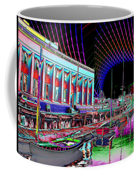Seattle Coffee Mug featuring the photograph Center For Wooden Boats by Tim Allen