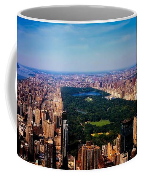 Central Park Coffee Mug featuring the photograph Central Park by L O C