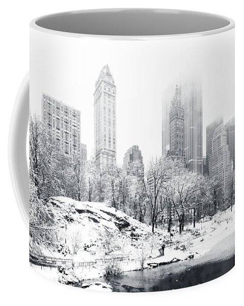 America Coffee Mug featuring the photograph Central Park by Mihai Andritoiu