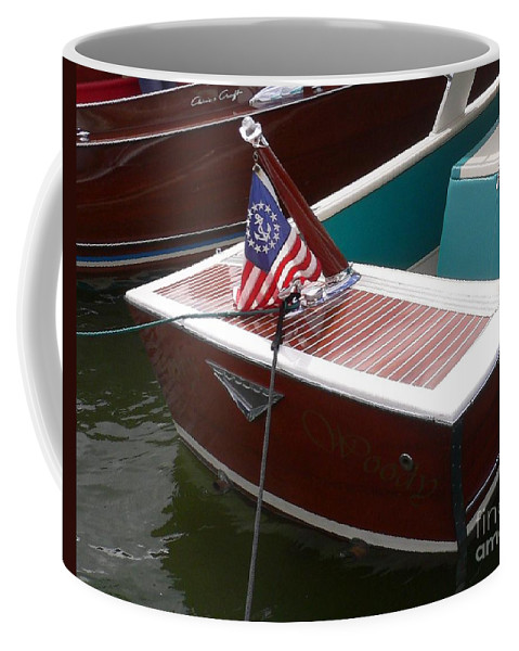 Boat Coffee Mug featuring the photograph Century Coronado by Neil Zimmerman
