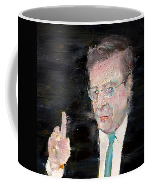 Ceo Coffee Mug featuring the painting Banker by Fabrizio Cassetta