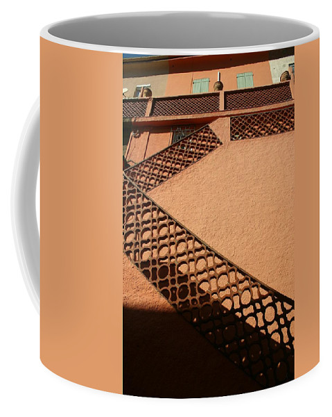 Stairs Coffee Mug featuring the photograph Cerbre France Stairs by Minaz Jantz