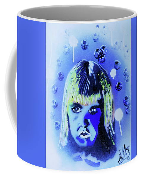 Cereal Killers Coffee Mug featuring the painting Cereal Killers - Boo Berry by eVol i