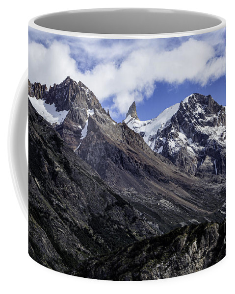 Patagonia Coffee Mug featuring the photograph Cerro Chalten 3 by Timothy Hacker