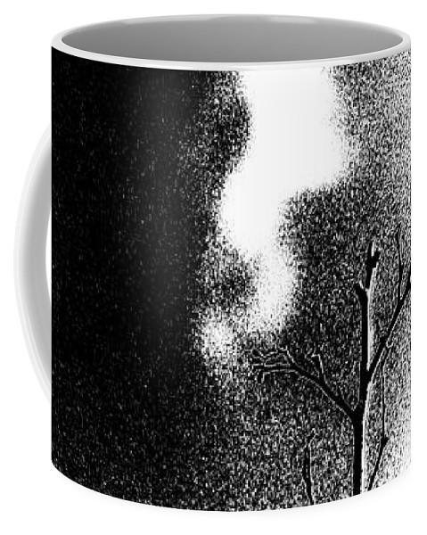 Threshold Coffee Mug featuring the photograph chaffinch Threshold by Eddie Barron