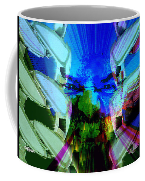Terrorism Coffee Mug featuring the digital art Chains Of Terror by Seth Weaver