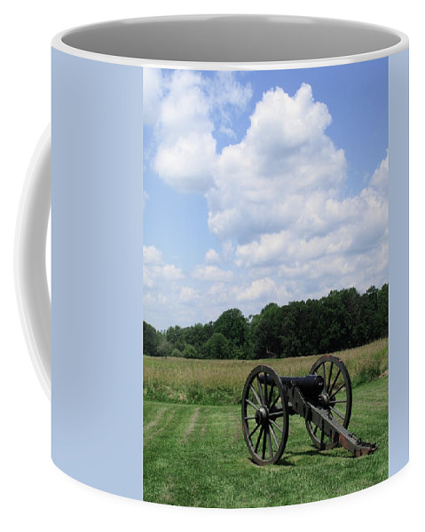 American Coffee Mug featuring the photograph Chancellorsville Battlefield 3 by Frank Romeo