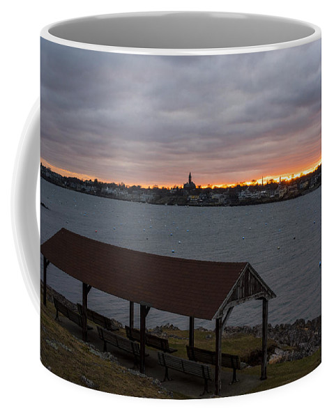 Marblehead Coffee Mug featuring the photograph Chandler Hovey Park Sunset Marblehead Ma by Toby McGuire