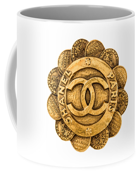Chanel Coffee Mug featuring the painting Chanel Jewelry-2 by Nikita