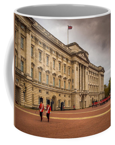 Storm Coffee Mug featuring the photograph Changing Of The Guard by Mark Llewellyn