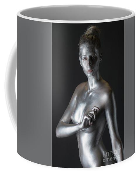 Body Painting Coffee Mug featuring the photograph Chantal by Robert McAlpine