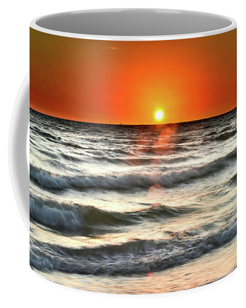 Landscape Coffee Mug featuring the photograph Chaotic Calm by Nate Haupt