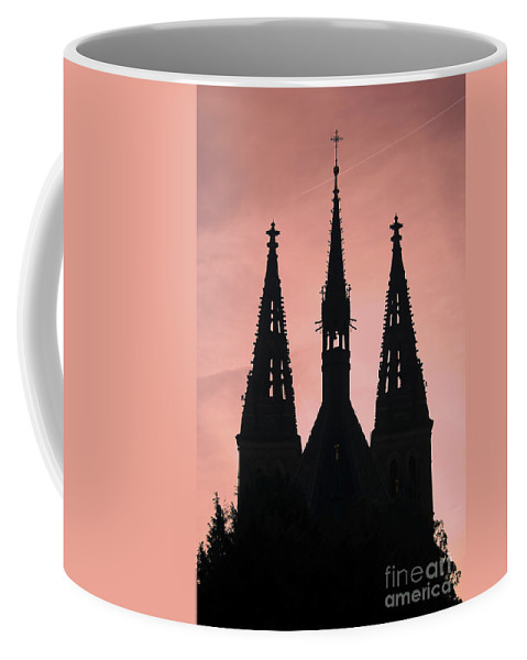 Church Coffee Mug featuring the photograph Chapter Church Of St Peter And Paul by Michal Boubin