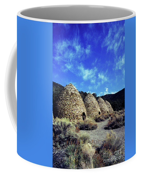 Wild Rose Canyon Coffee Mug featuring the photograph Charcoal Kilns by Jim And Emily Bush