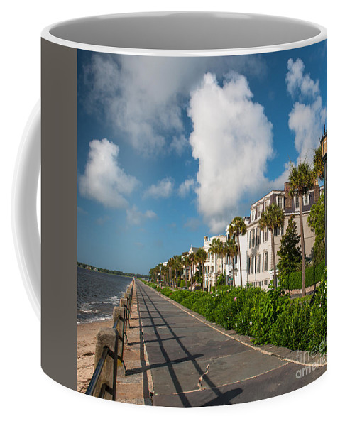 Charleston Coffee Mug featuring the photograph Charleston Sc Battery by Dale Powell