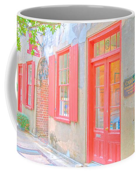 Catfish Row Coffee Mug featuring the photograph Charleston Sc Catfish Row by Dale Powell