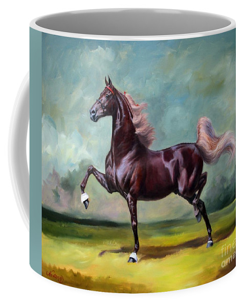 Charmed And Bewitched Coffee Mug featuring the painting Charmed And Bewitched by Jeanne Newton Schoborg