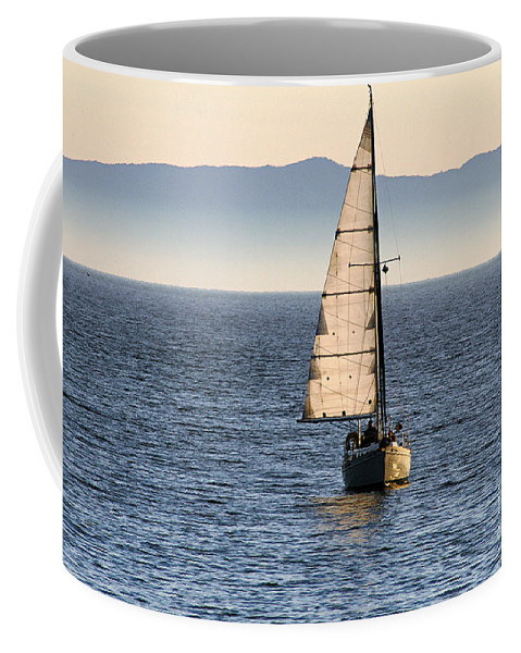 Clay Coffee Mug featuring the photograph Chasing The Mist by Clayton Bruster