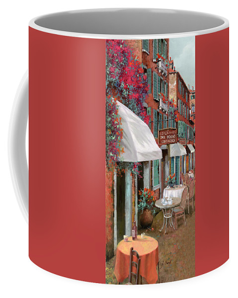 Table Coffee Mug featuring the painting Che Tavolo Vuoi by Guido Borelli