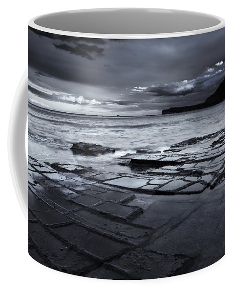 Tesselated Pavement Coffee Mug featuring the photograph Checkerboard Squares by Mike Dawson