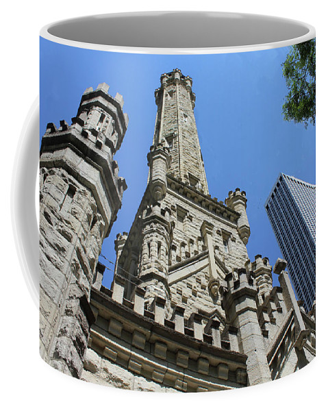 Chicago Coffee Mug featuring the photograph Checkmate by Tyquill Williams