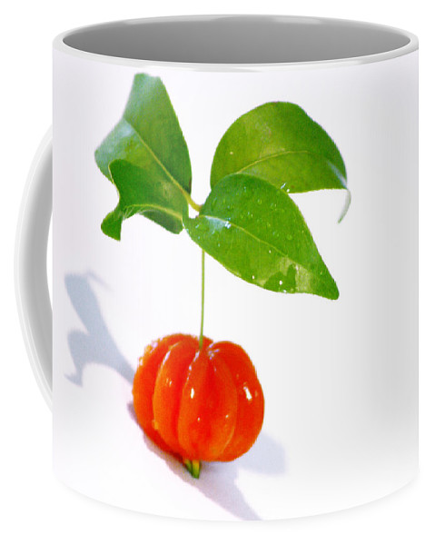 Food Coffee Mug featuring the photograph Cherry by Holly Kempe