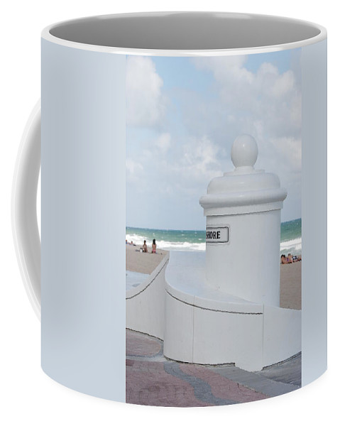 Shore Coffee Mug featuring the photograph Chess Pawn Shore by Rob Hans