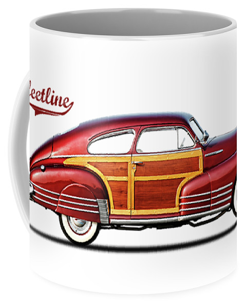 Chevrolet Fleetline Coffee Mug featuring the photograph Chevrolet Fleetline 1948 by Mark Rogan