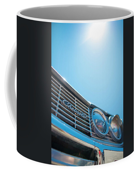 Coffee Mug featuring the photograph Chevrolet by Michael Rivera