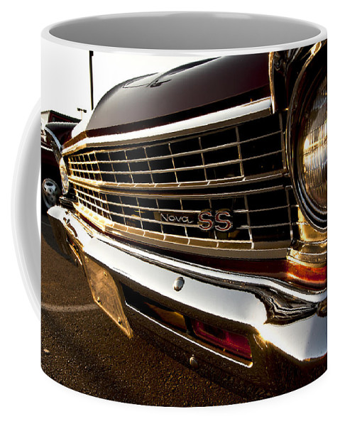 Chevy Coffee Mug featuring the photograph Chevy Nova Ss by Cale Best