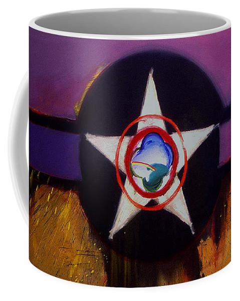 Air Force Insignia Coffee Mug featuring the painting Cheyenne Autumn by Charles Stuart