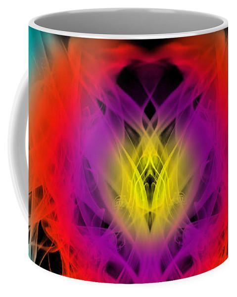 Clay Coffee Mug featuring the digital art Chi by Clayton Bruster