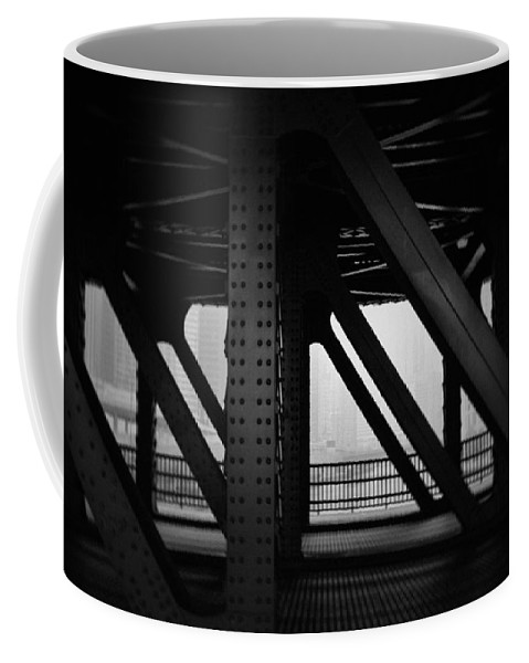 Chicago Coffee Mug featuring the photograph Chicago Bridge by Kyle Hanson