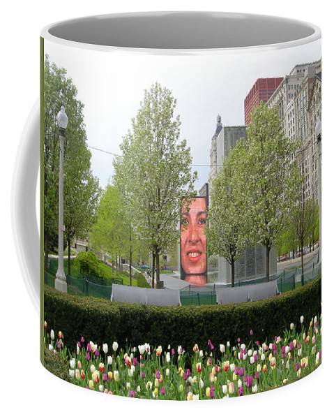 Chicago Coffee Mug featuring the photograph Chicago by Jean Macaluso