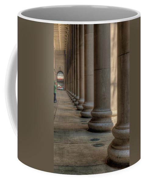 Chicago Coffee Mug featuring the photograph Chicagos Union Station Exterior by Steve Gadomski