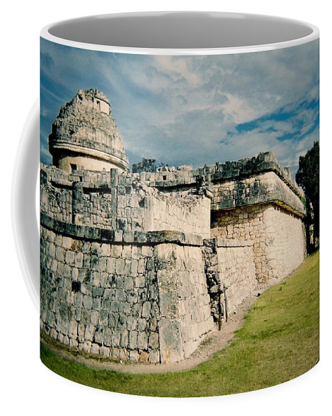 Chitchen Itza Coffee Mug featuring the photograph Chichen Itza 1 by Anita Burgermeister