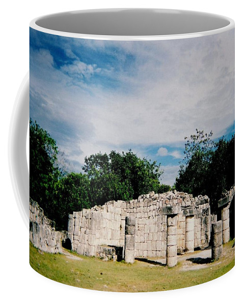 Chitchen Itza Coffee Mug featuring the photograph Chichen Itza 2 by Anita Burgermeister
