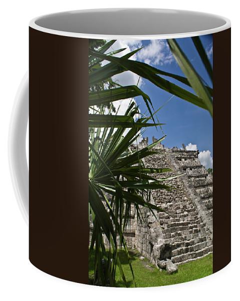 Chichen Itza Coffee Mug featuring the photograph Chichen Itza 2 by Douglas Barnett