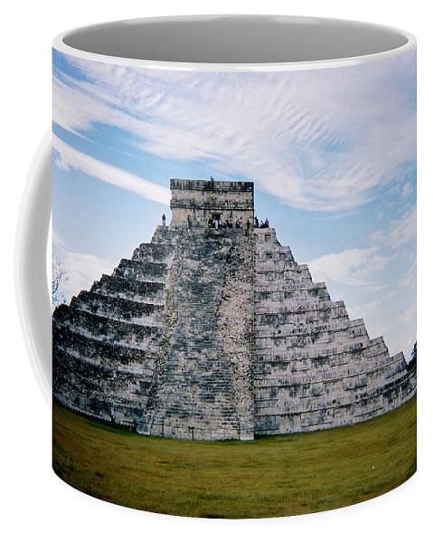Chitchen Itza Coffee Mug featuring the photograph Chichen Itza 4 by Anita Burgermeister